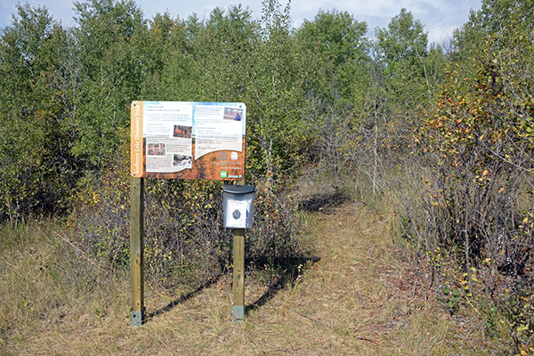 New attraction in the Biosphere Reserve:  Redberry Lake Discovery Trail