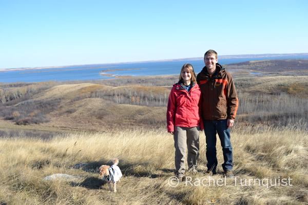 German volunteers with Redberry Lake Biosphere Reserve