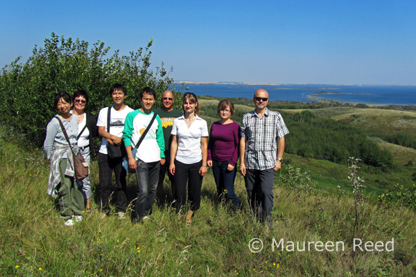 Japanese Researchers visit Saskatchewan and Redberry Lake Biosphere Reserve